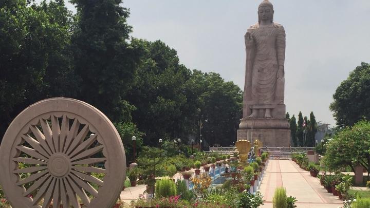 Standing Buddha in Sarnath